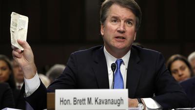 Supreme Court nominee Brett Kavanaugh's lips sealed on White House subpoenas, pardons
