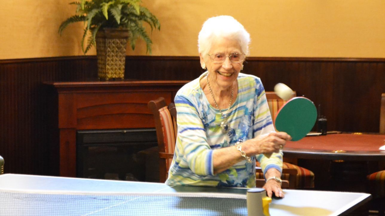 Rancho Bernardo woman proves her table tennis skills at 101