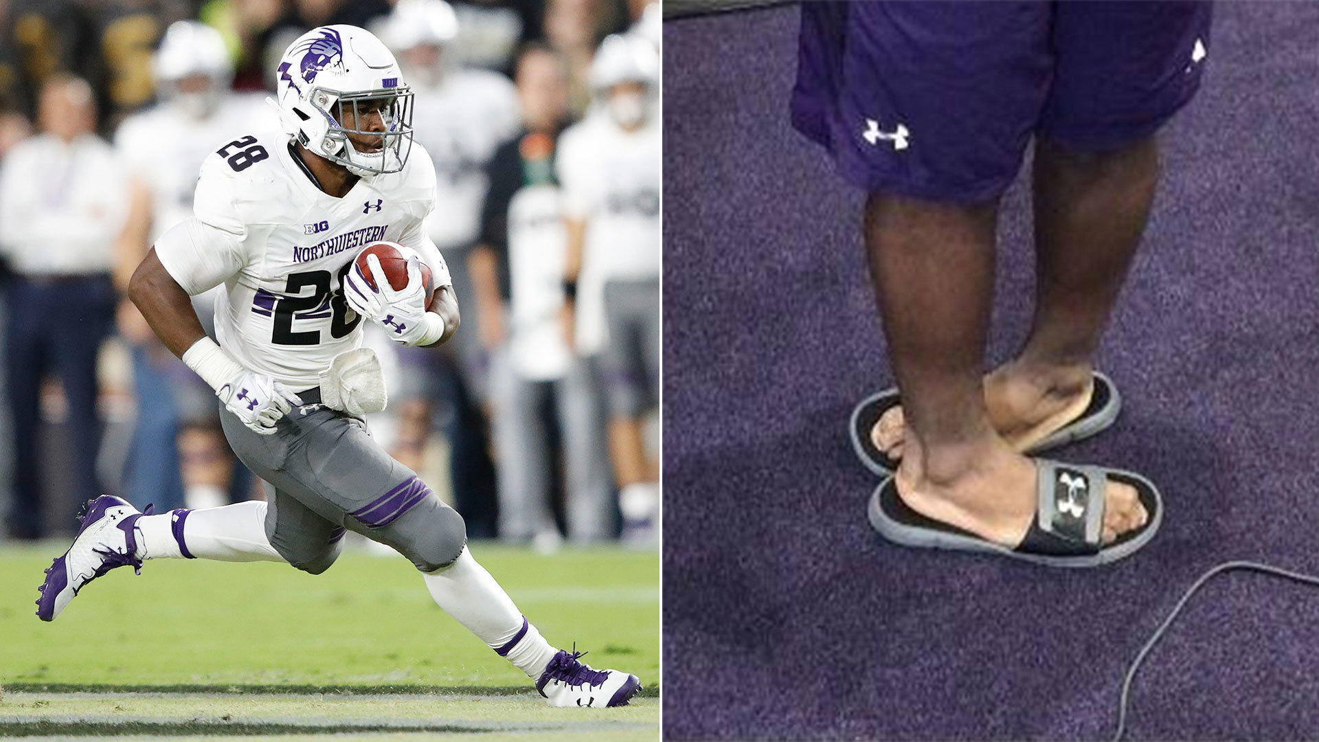 5 things to know about Jeremy Larkin, Northwestern's pigeon-toed and goofy new running back - Chicago Tribune