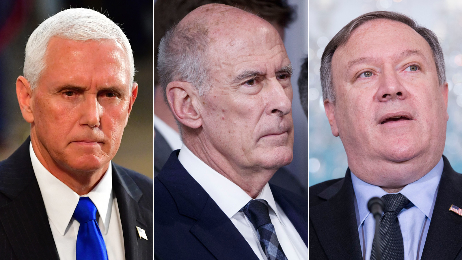 Pence, Coats and Pompeo deny authorship of anonymous New York Times op-ed on Trump