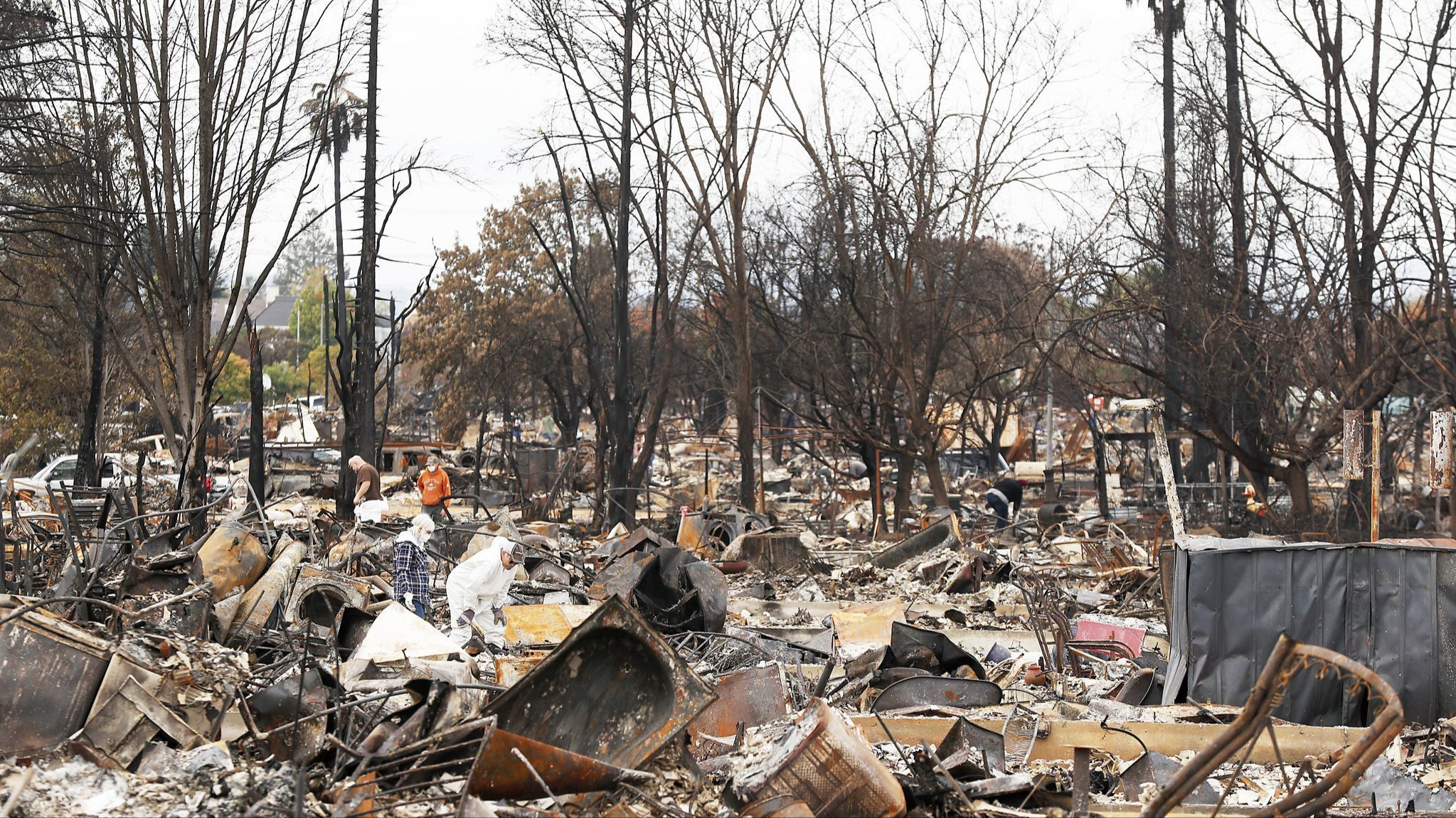 State says seniors were abandoned during Northern California wildfire