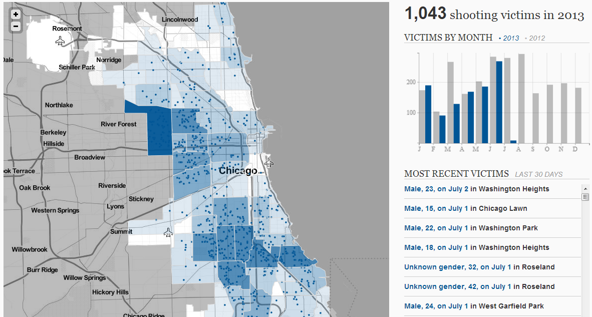How\'d we build this interactive crime map? - Chicago Tribune