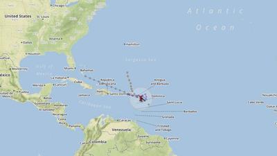 Hurricane tracking models