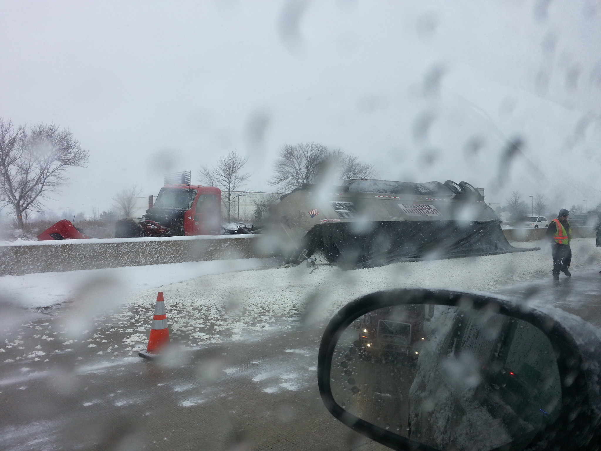 Some lanes reopen after semi accident on I-80 - Chicago Tribune