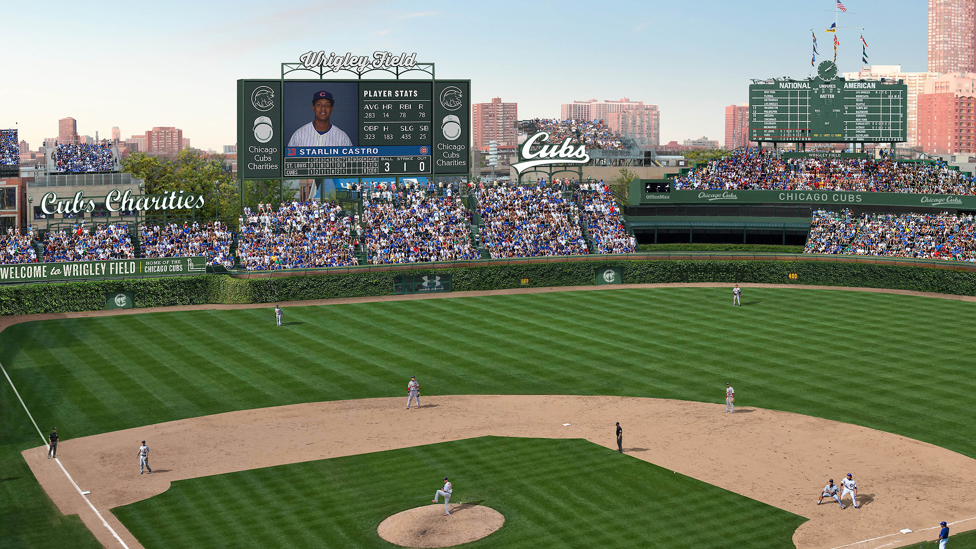 Landmark Commission To Vote On Proposed Wrigley Field Changes