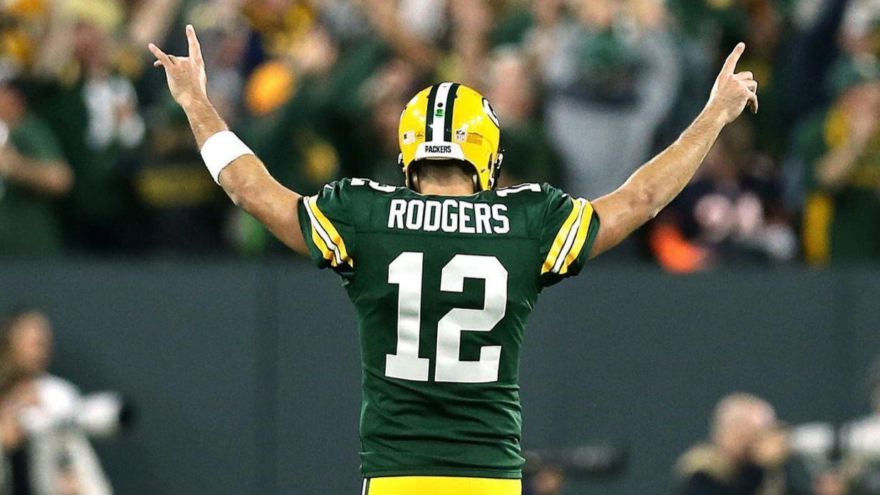 Ct Spt Aaron Rodgers Knee Injury Packers Waiting  Info