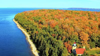 By air, water or land, seeing Door County in the fall doesn't disappoint