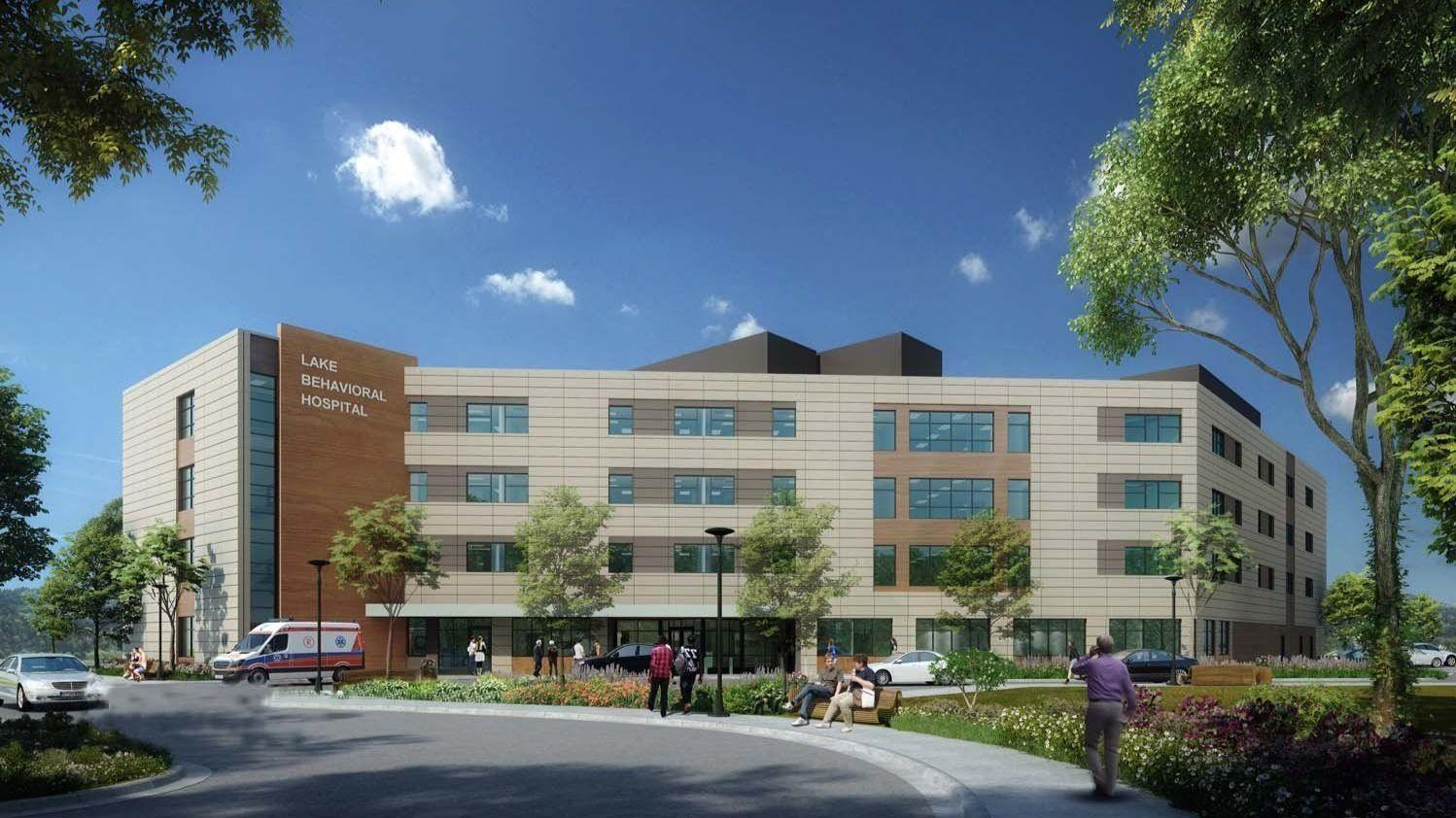 Plans To Expand Lake Behavioral Hospital In Waukegan Receive First