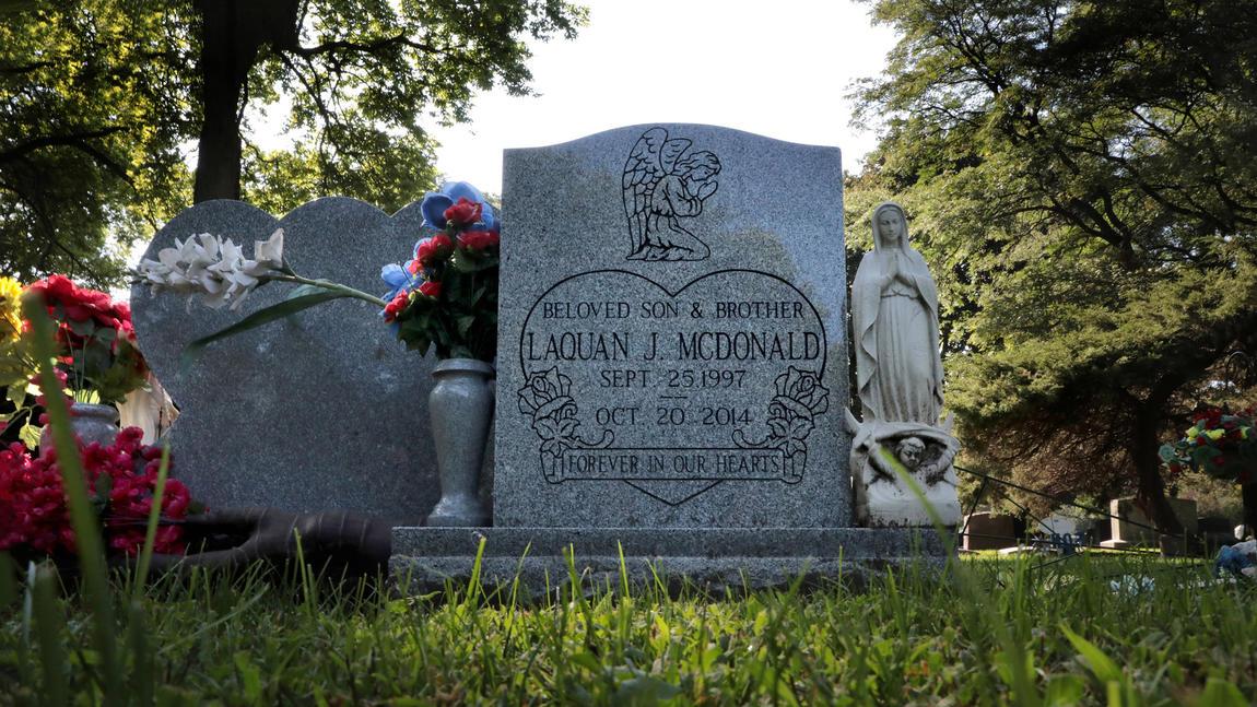Grave of Laquan McDonald