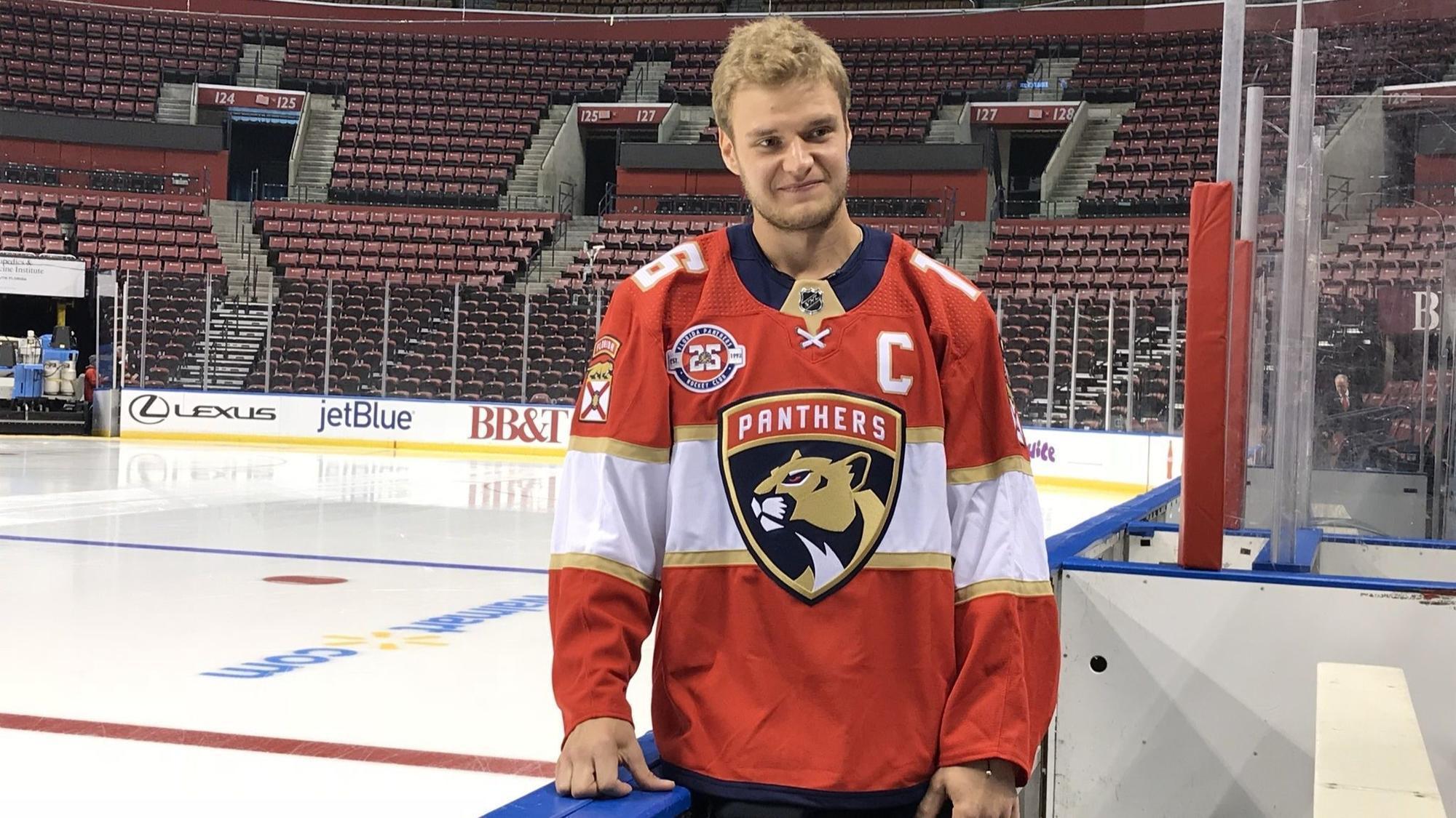 Aleksander Barkov Florida Panthers Player Swingman Jersey