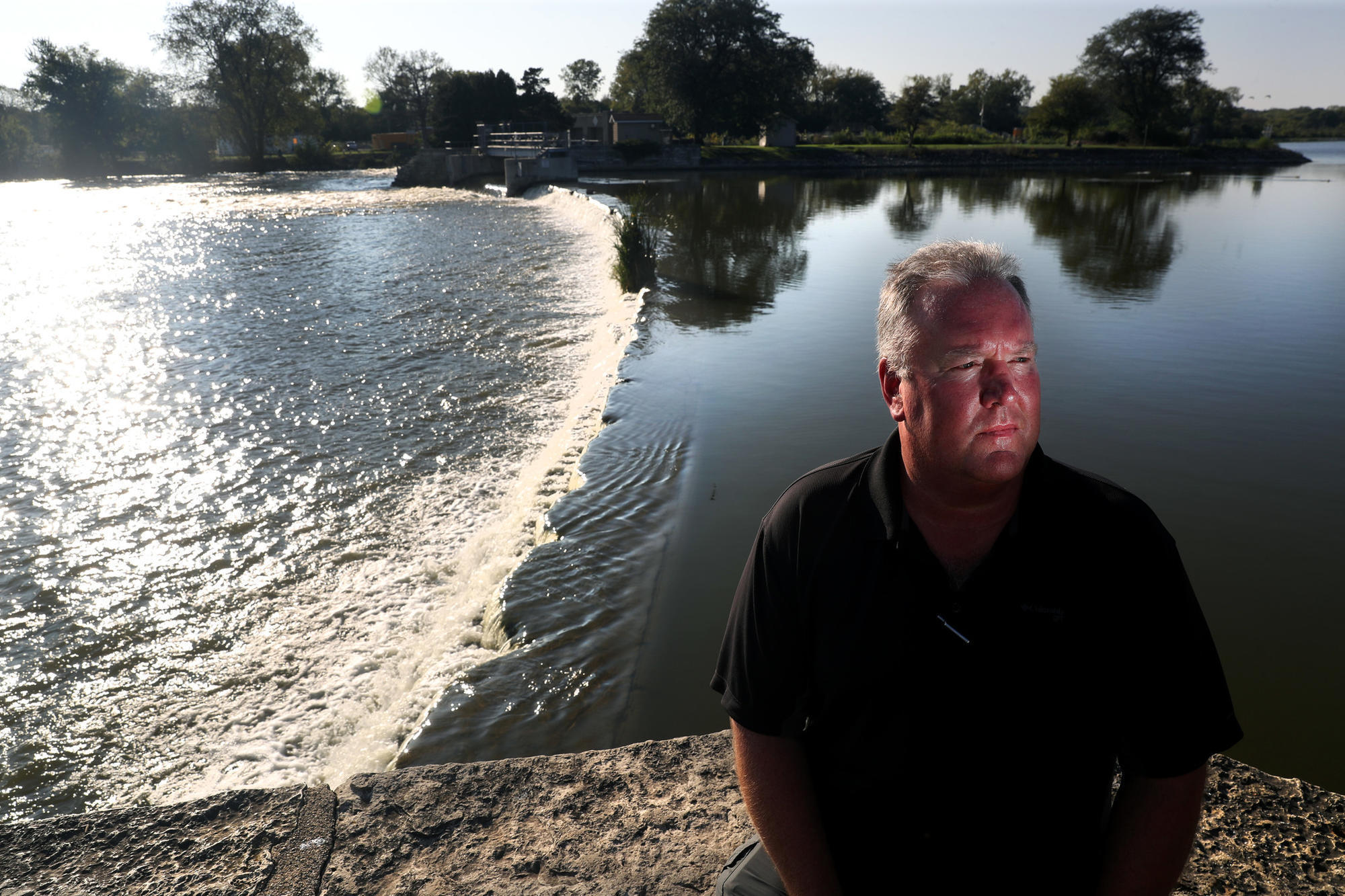it s been rough residents near chain o lakes want stratton dam