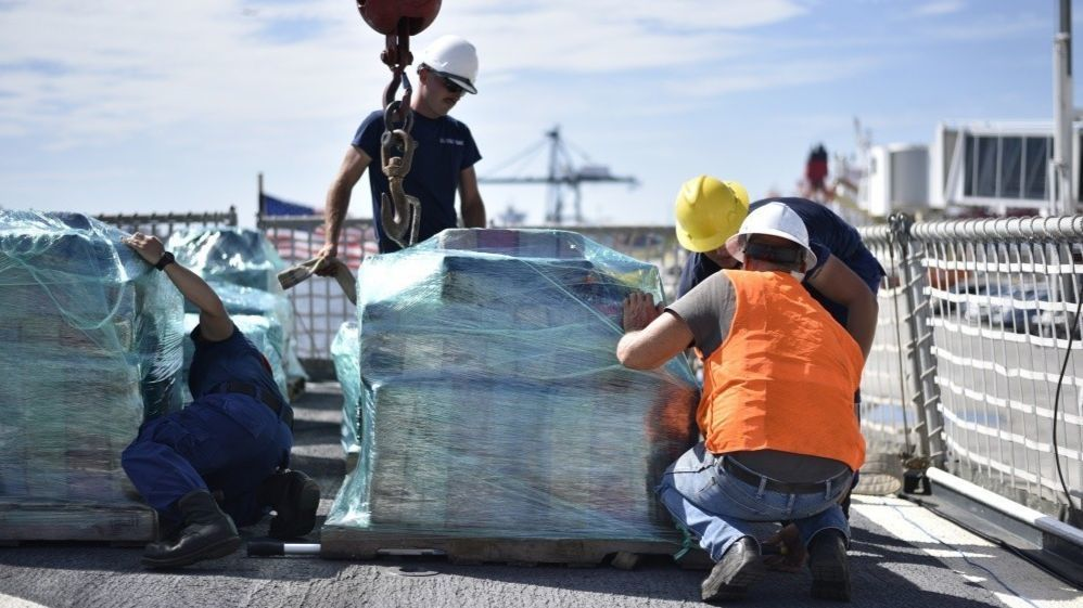 6 tons of cocaine worth $170 million arrives at Port Everglades