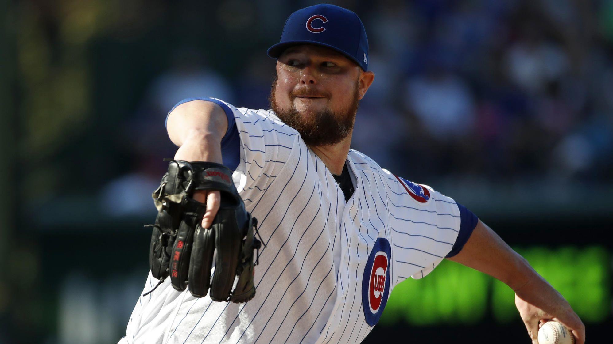 Cubs' Jon Lester getting more rest before start vs. White Sox