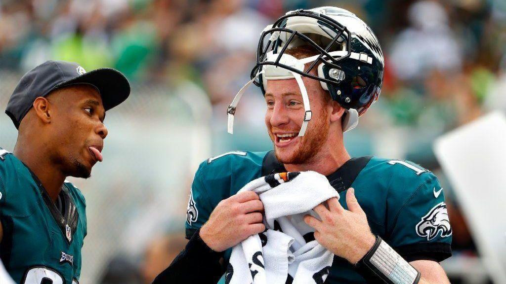 Jordan Matthews Provides Extra Comfort For Carson Wentz The Morning