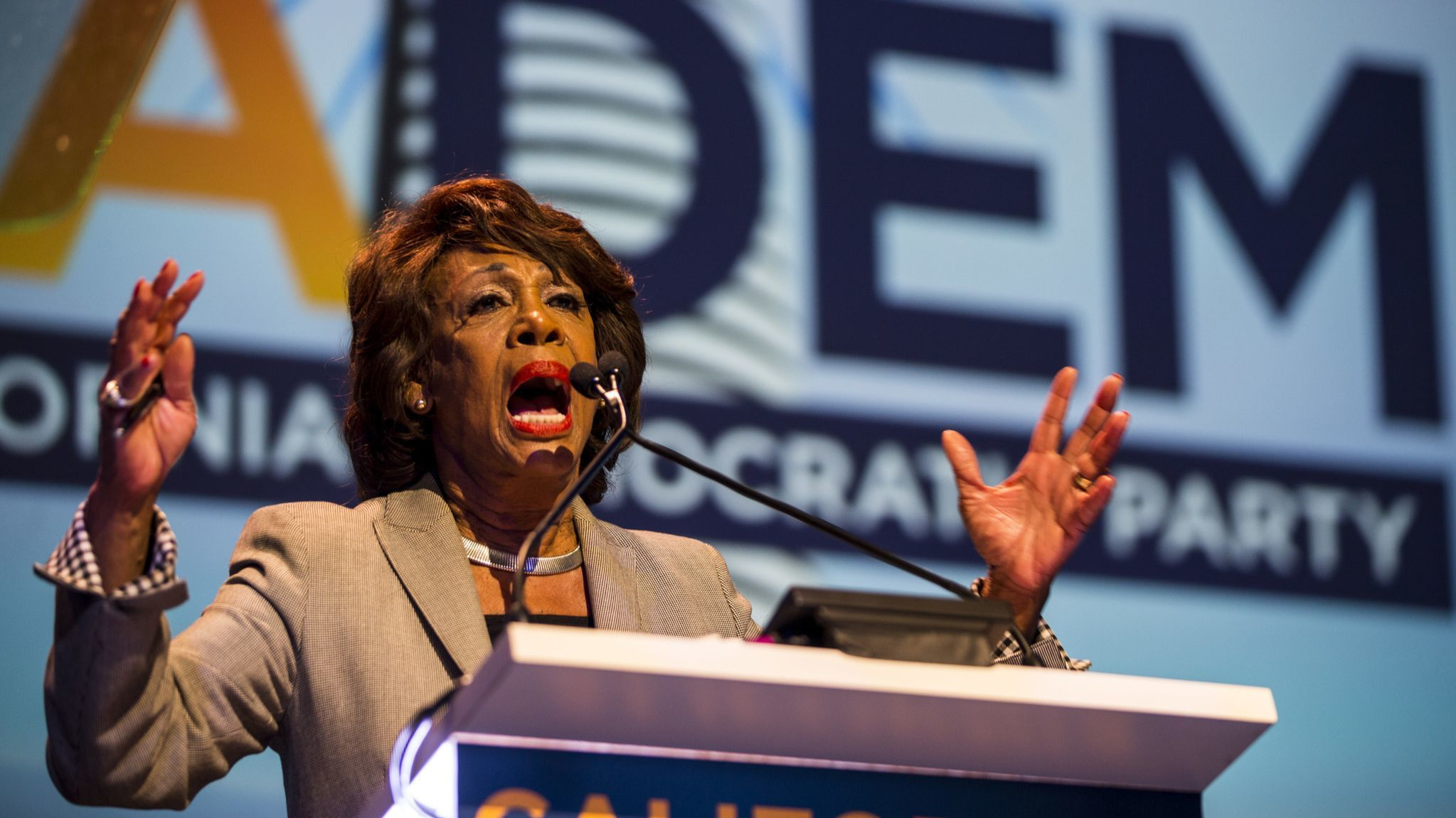 Maxine Waters says she's not scared, won't back down after explosive device mailed to her
