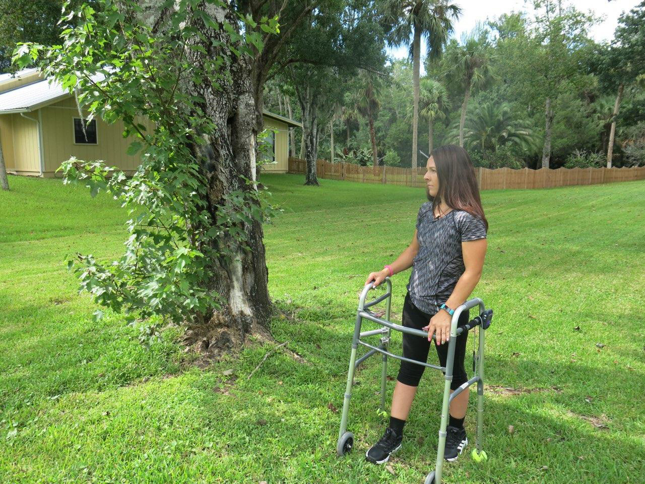 Paralyzed people are beginning to walk with a new kind of therapy