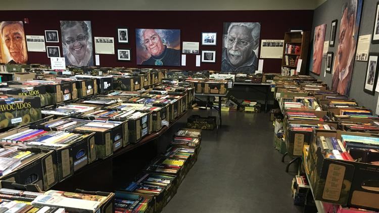 Thousands of books are sold at Bonita Optimist Club's twice-annual book sales, which benefit club charity programs.