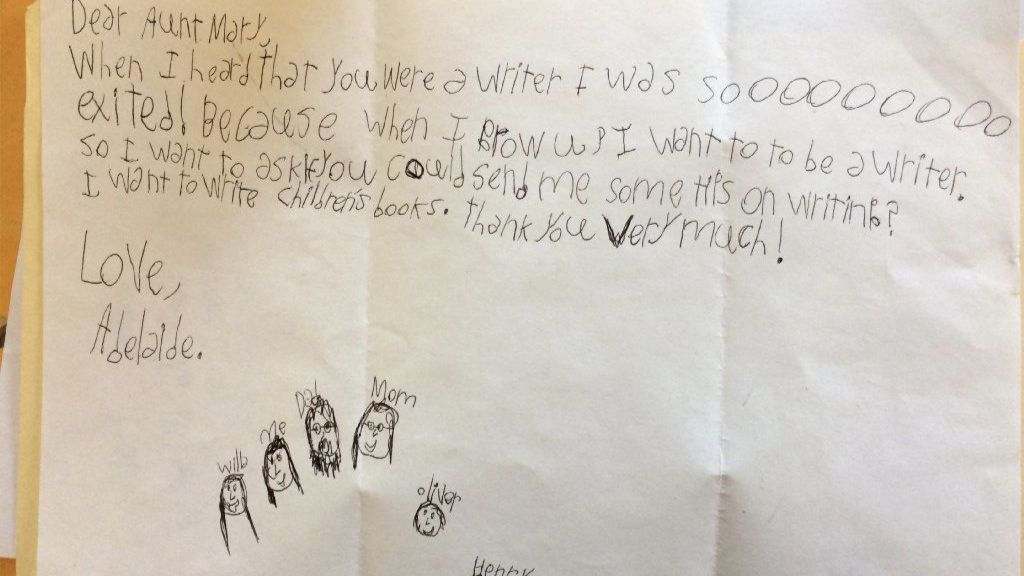 A 9-year-old girl asks for writing tips. Here are 10.