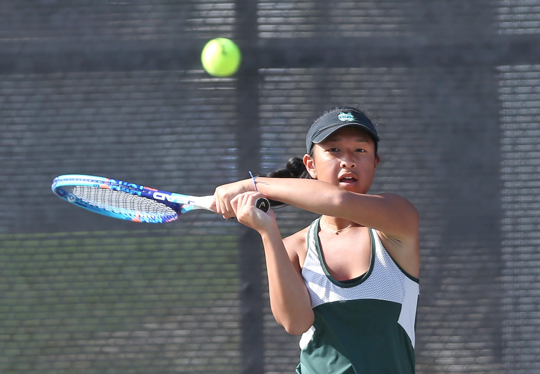 Costa Mesa girls' tennis alone in first place in Orange Coast League
