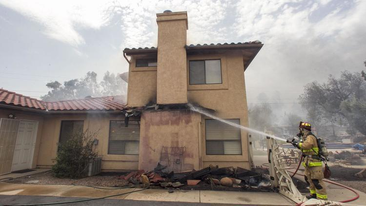 Man guilty of home break-in during San Diego County fire