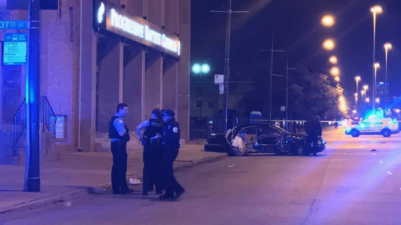 Woman killed, 2 injured in crash near Guaranteed Rate Field