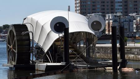 A Garbage Collecting Device Like Baltimoreu0027s Mr. Trash Wheel Is Heading To  The West Coast