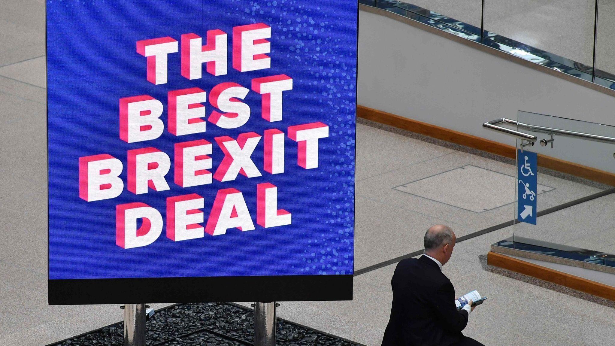 Theresa May tells critics to drop dream of a 'perfect' Brexit
