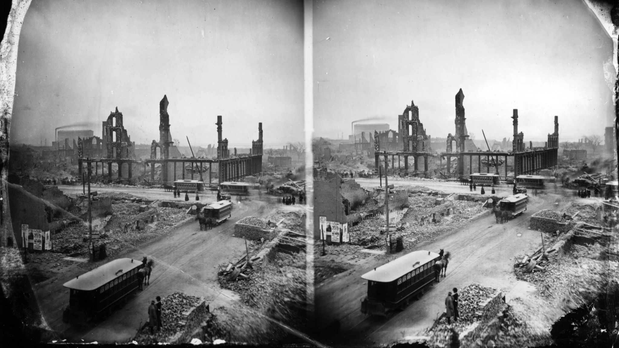 Since before the Great Fire, fires keep rewriting Chicago history