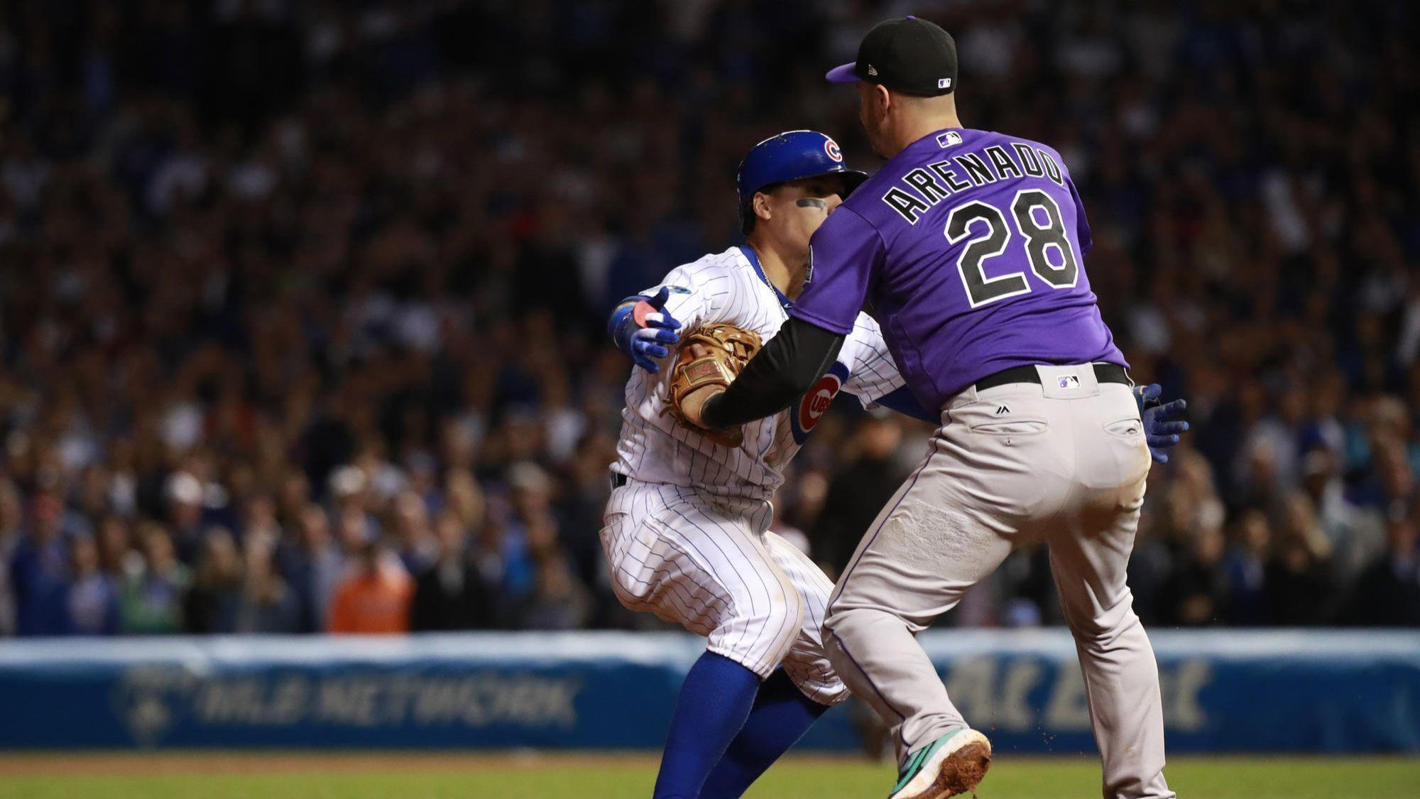 ESPN's Alex Rodriguez lecturing Javier Baez on baserunning rules? That's hilarious.