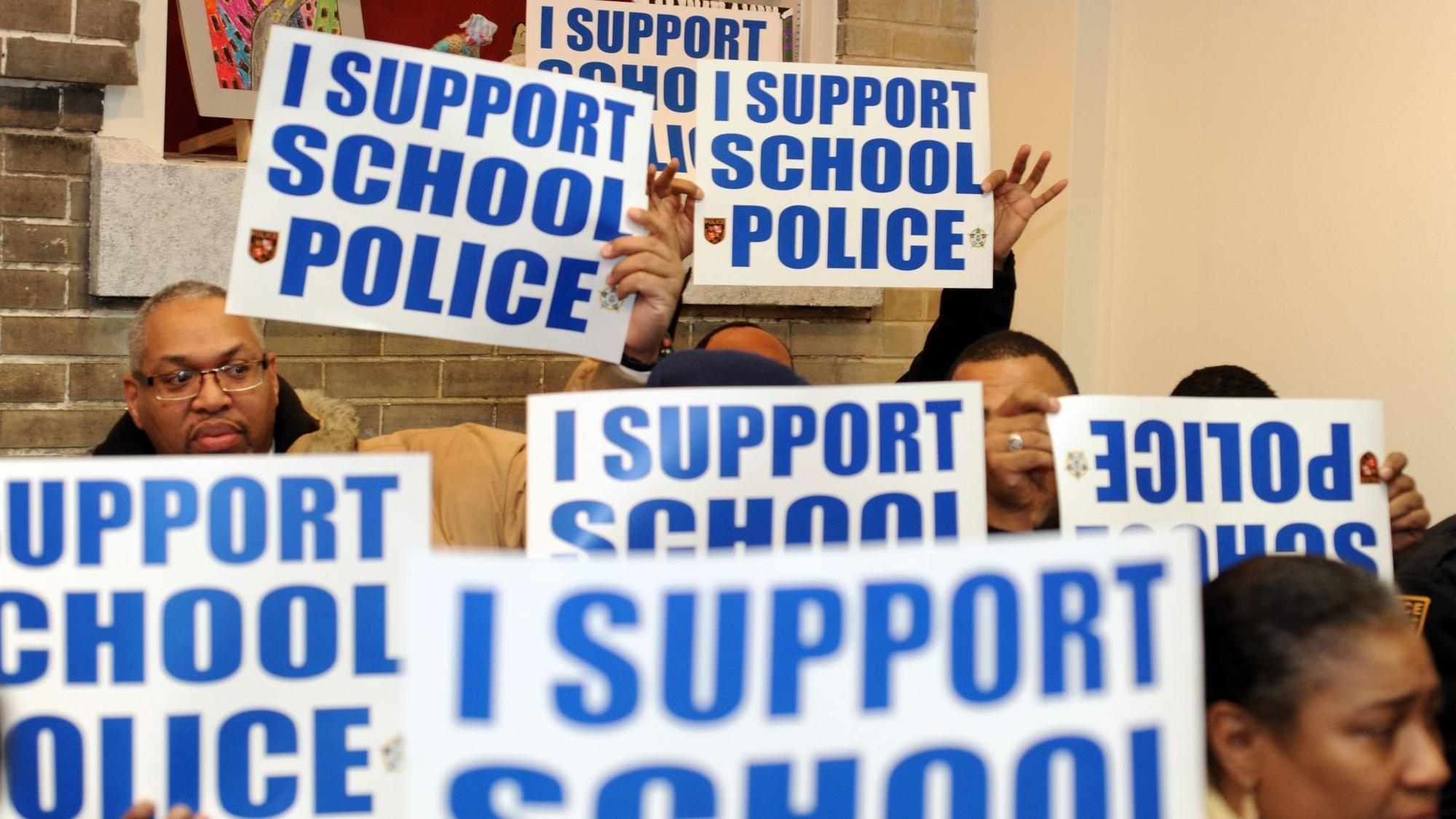 Baltimore City school board revives the question: Should school police officers be armed?