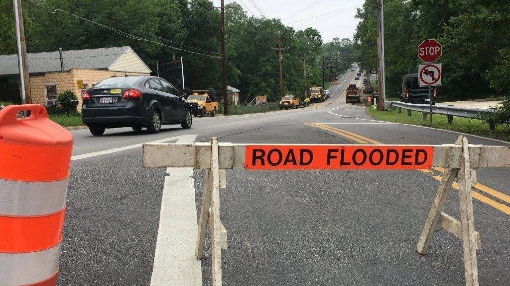 Baltimore County officials to discuss future of flood-damaged Catonsville roads | Baltimore Sun