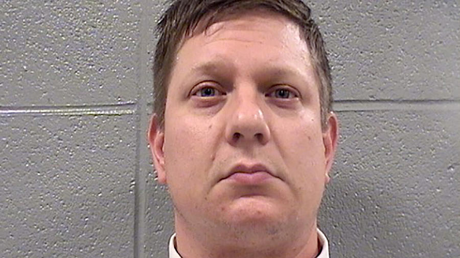 Chicago police Officer Jason Van Dyke
