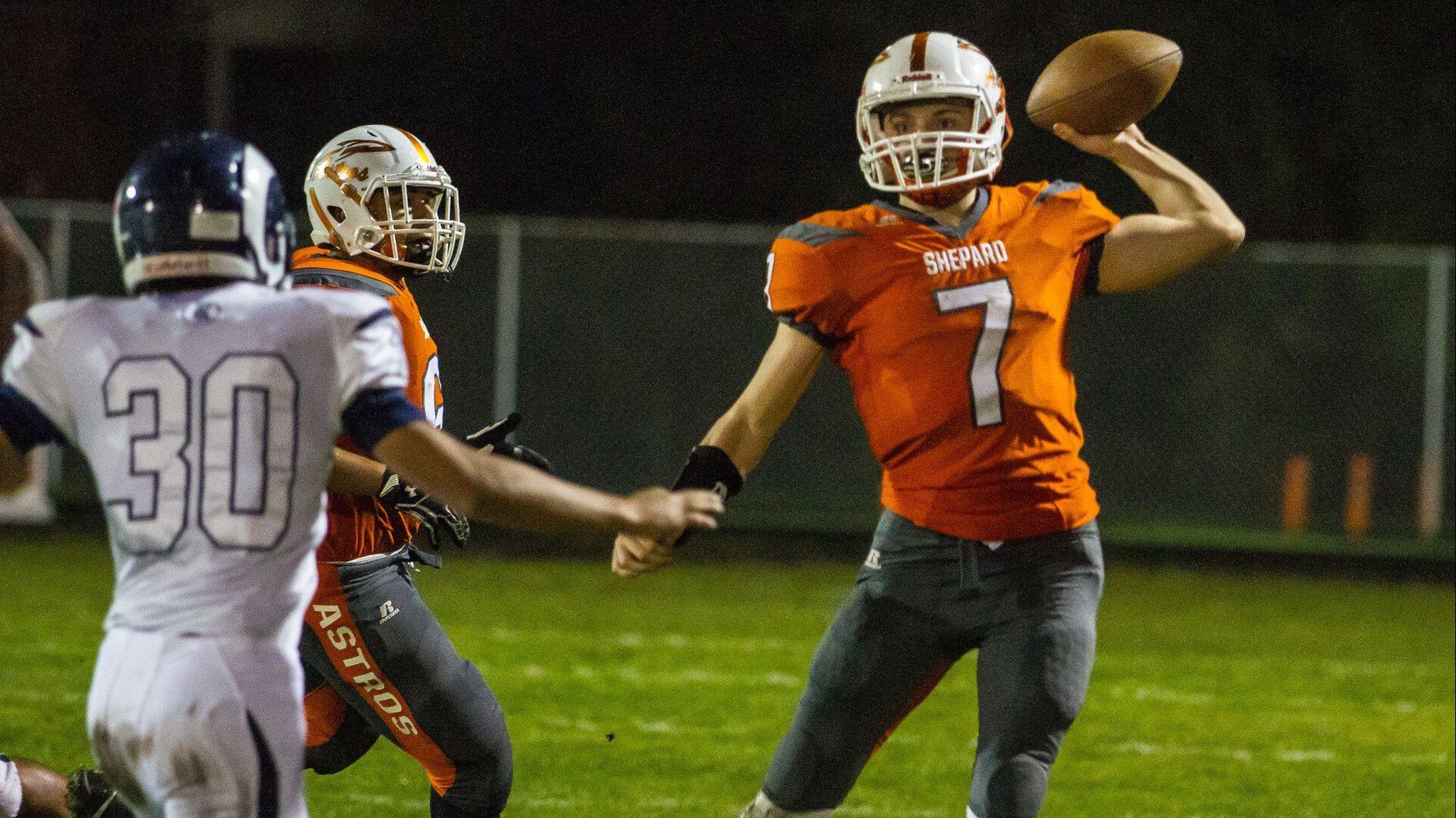 'I could do something': Kevin Graham steps in at quarterback, sparks Shepard past Reavis