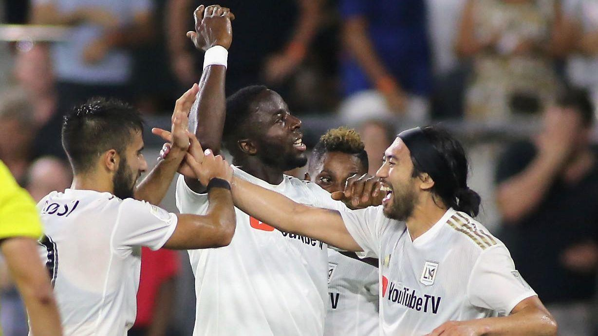 LAFC clinches playoff spot in its expansion season with 3-0 win over Rapids