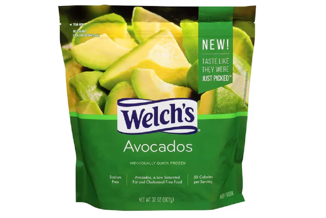 Welch's pre-chunked frozen avocados are pure genius