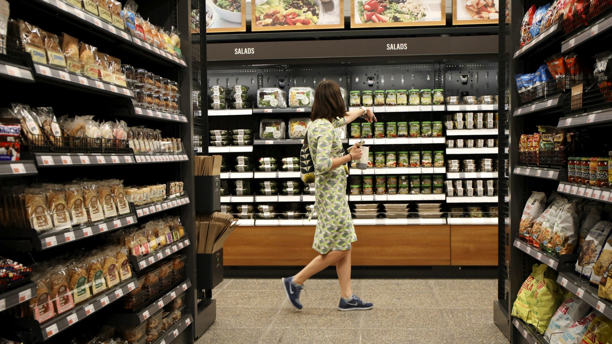 Amazon Go is opening two more cashierless stores in Chicago. 3,000 nationwide by 2021? We'll see.