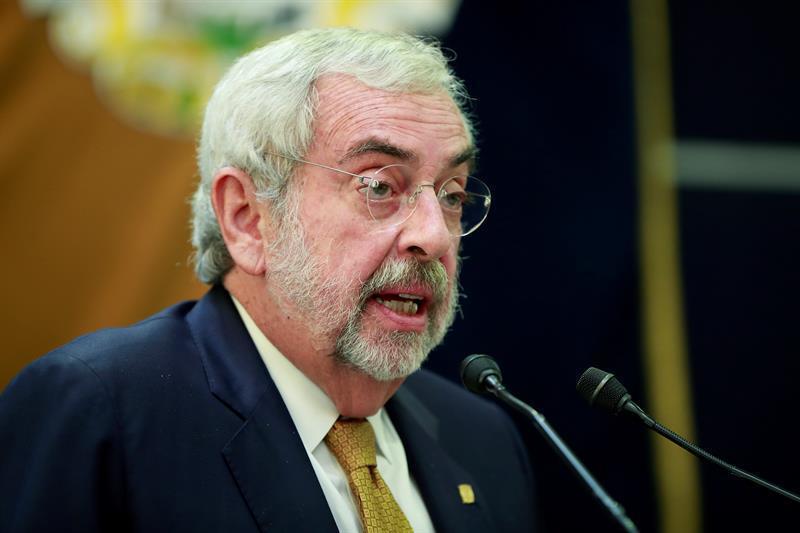 Rector de la UNAM se compromete ante estudiantes a eliminar grupos de choque