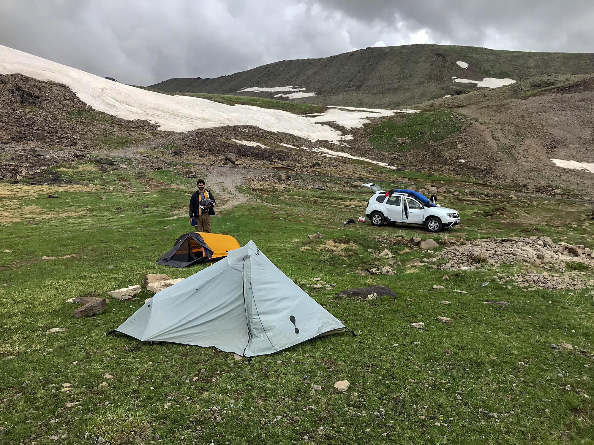 Hiking in Armenia