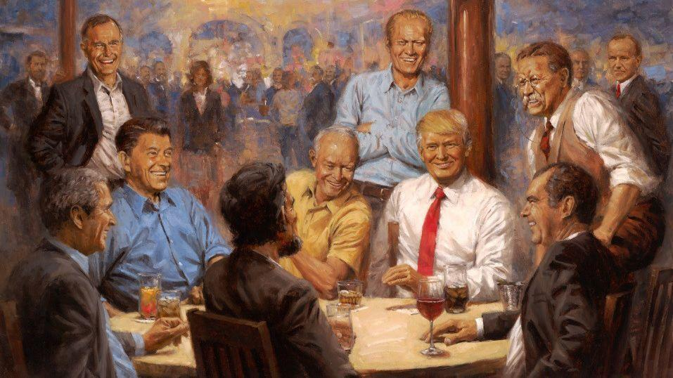 All We Know About The White House Portrait Of Trump