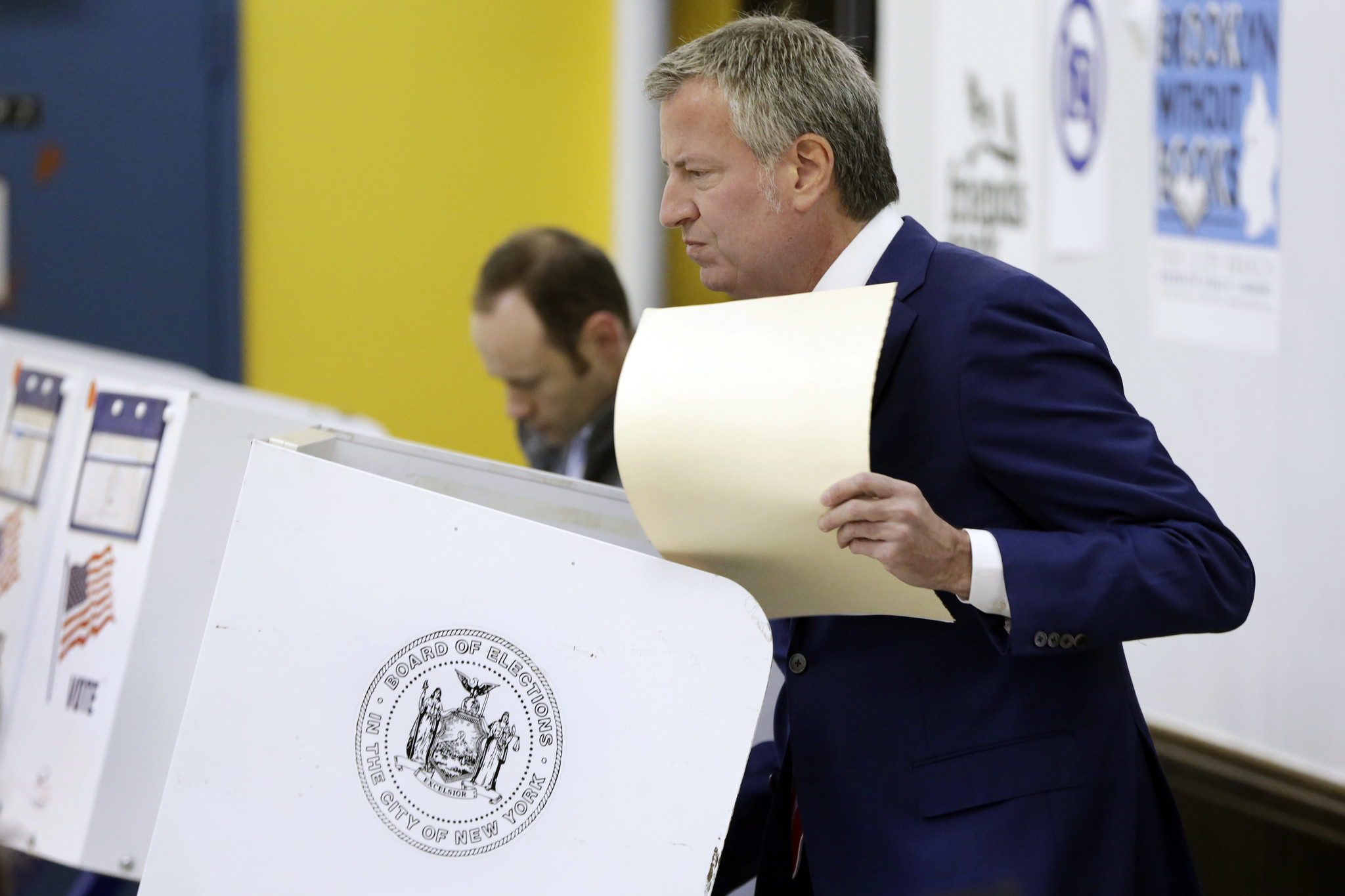 Mayor de Blasio's new democracy office could be suppressing voter turnout