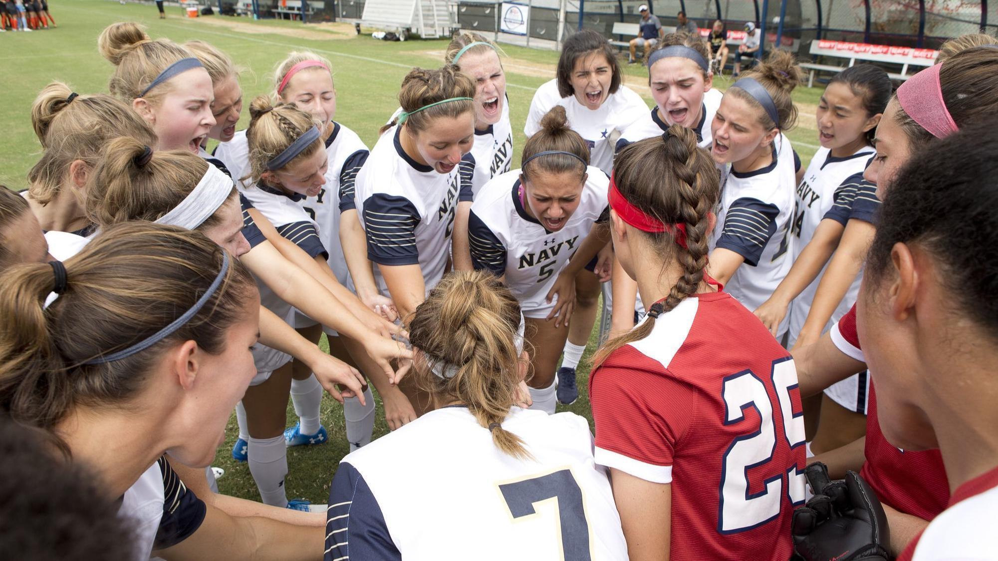 College roundup: Higginson's goal lifts Navy women's soccer