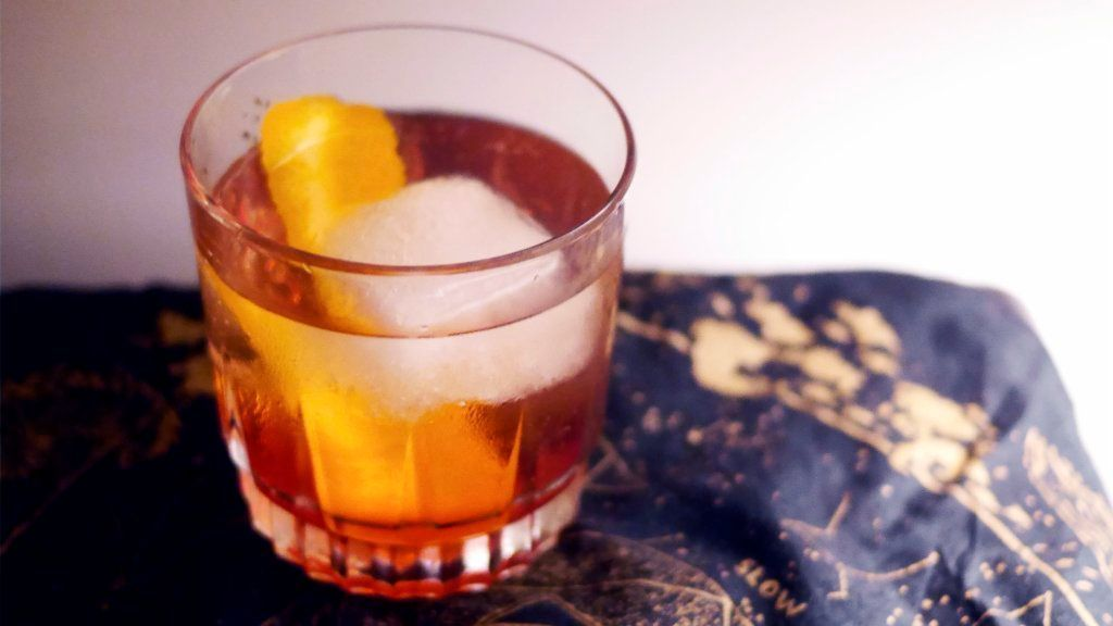 Life's too short to worry about complicated cocktails. Try this easy autumnal spritz