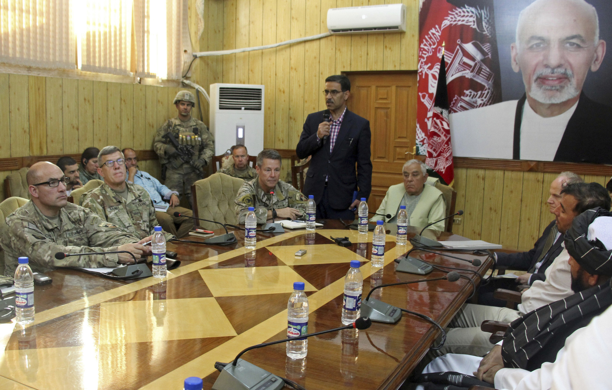 3 major Afghan officials assassinated by their own guards; top U.S. commander escapes