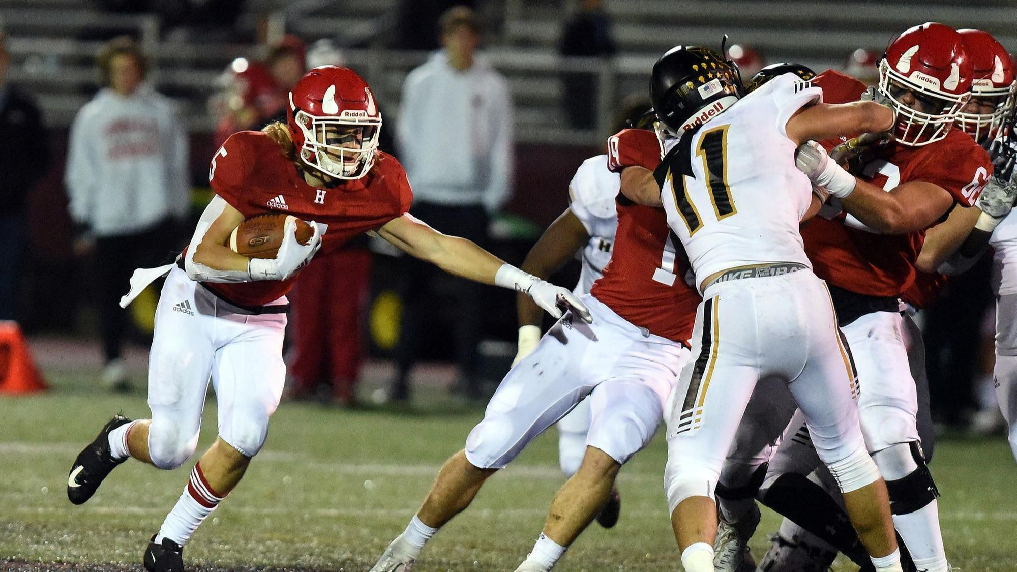 Linemen Give Hinsdale Central Leverage In Rivalry Win Against