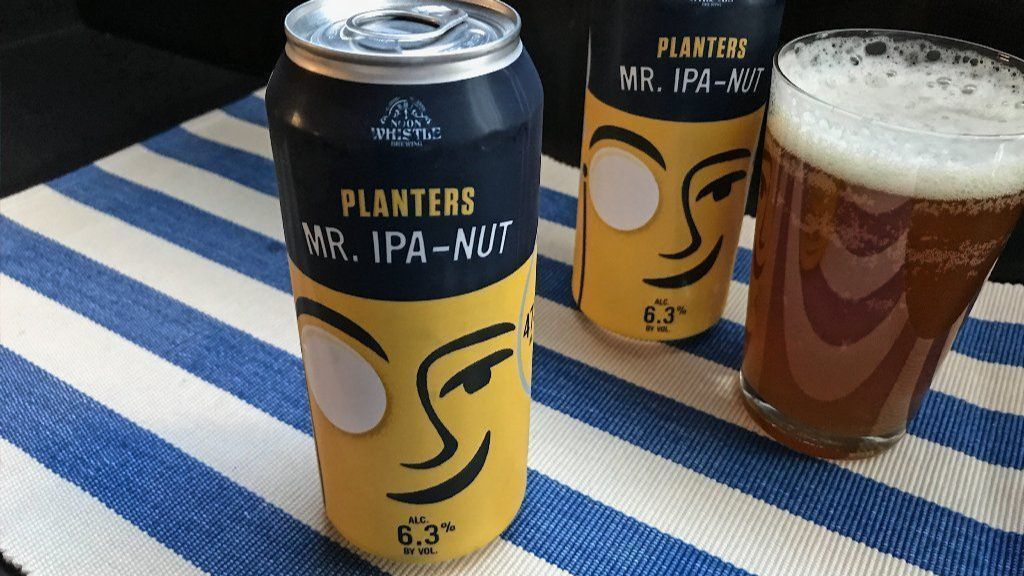 Planters peanut IPA collaboration with Chicago brewer tastes better than a gimmick