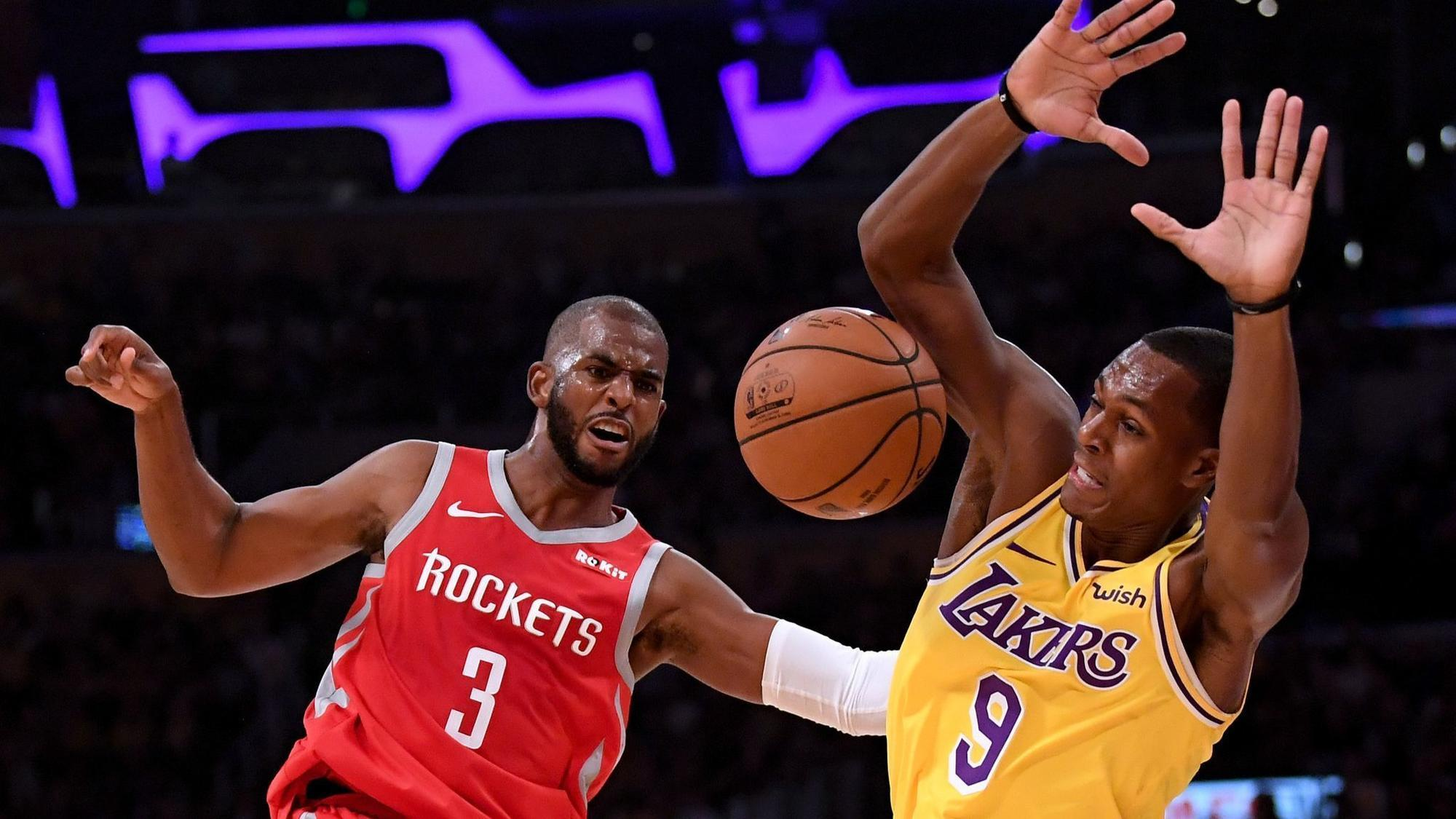 Rajon Rondo believes NBA sides with Chris Paul because of 'good guy' image but says he's 'a horrible teammate'