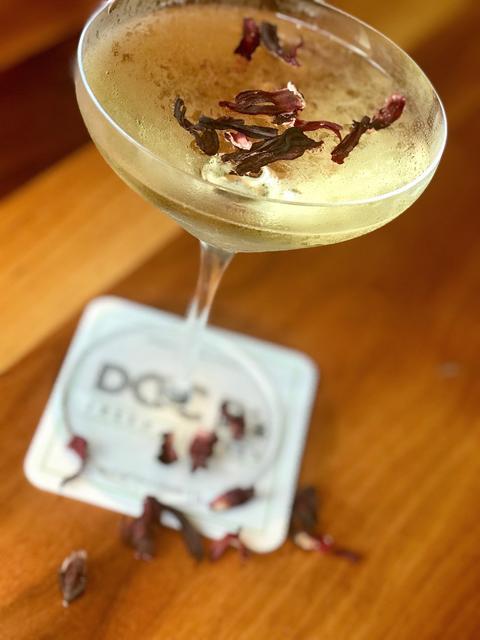 Crazy Beautiful Cocktail atDoc B's Fresh Kitchen.