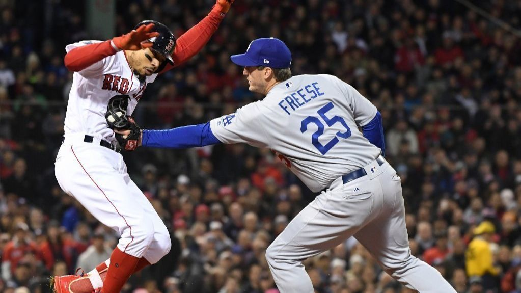 David Freese may start for Dodgers in Game 3, even with right-hander Rick Porcello on mound for Red Sox