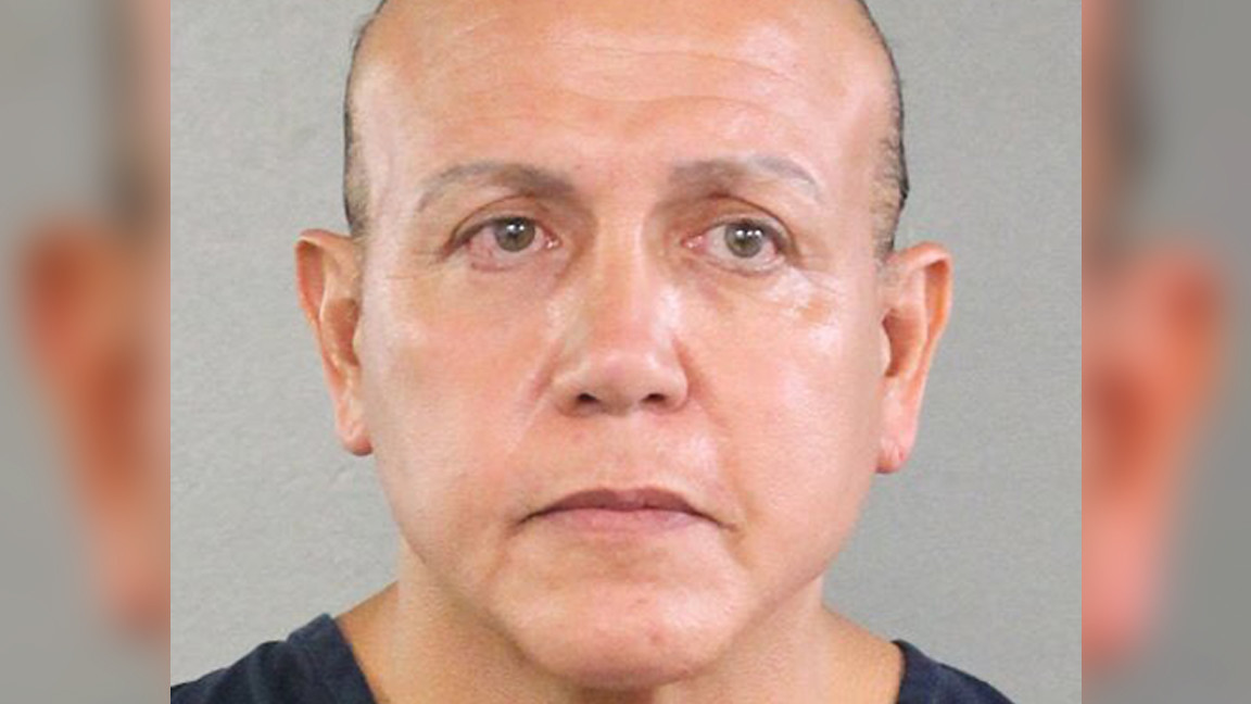 In rambling note to judge, Cesar Sayoc, pipe bomb mailer, blames steroids