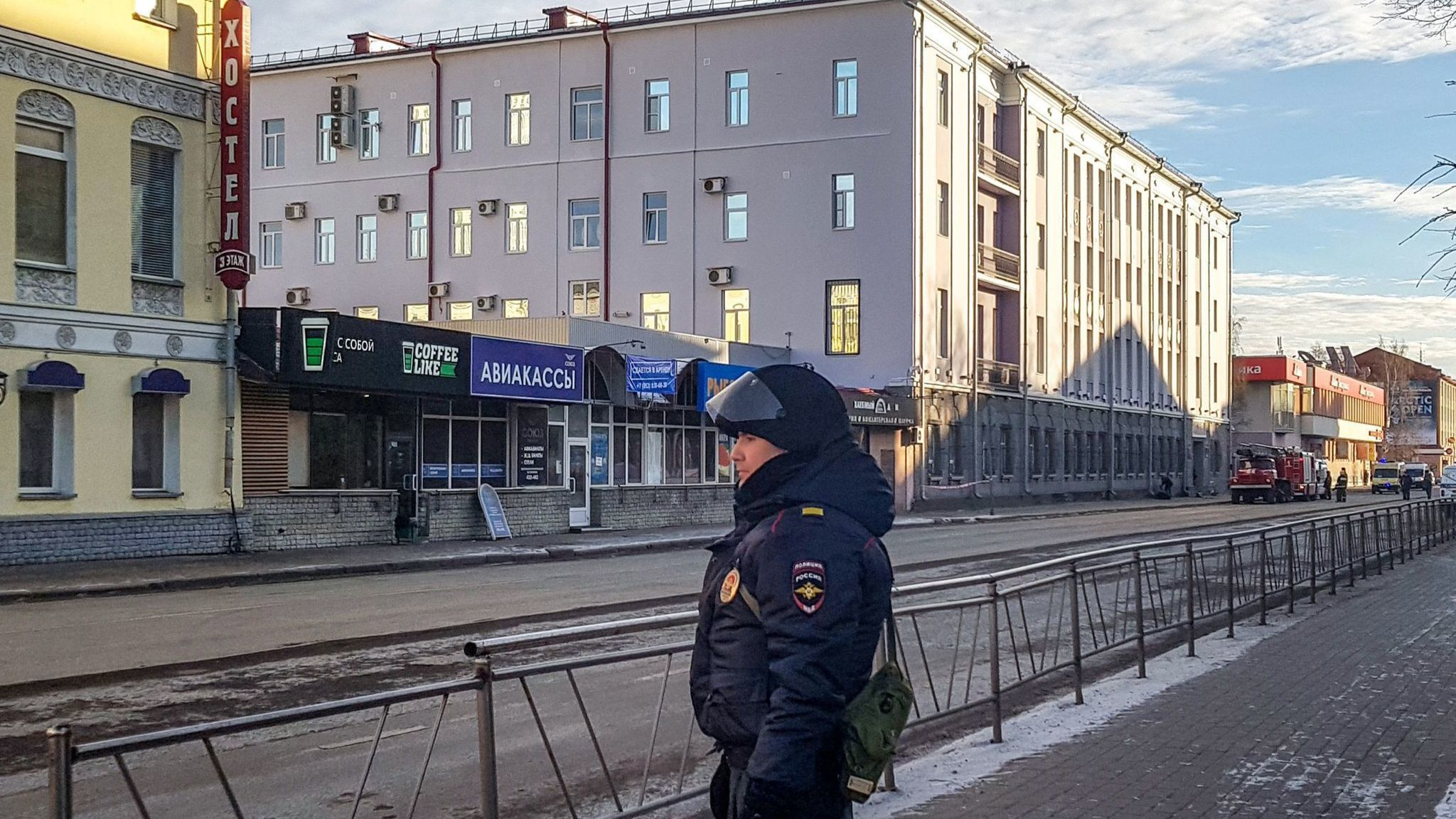Russia investigating explosion that killed one and injured three as a terrorist attack